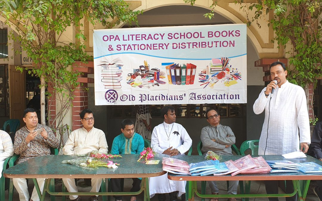 Books & School Kits Distribution for OPA Literacy Student