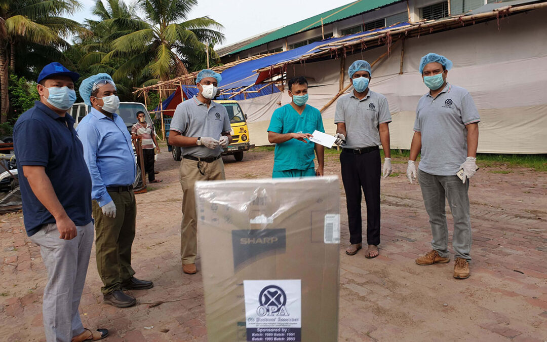 Washing Machine Distribution to Chattogram Field Hospital (CFH) (Covid-19 Pandemic Outbreak):