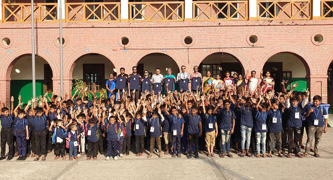 School Uniform Distribution To OLS Students